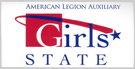 American Legion Aux Girls State Logo