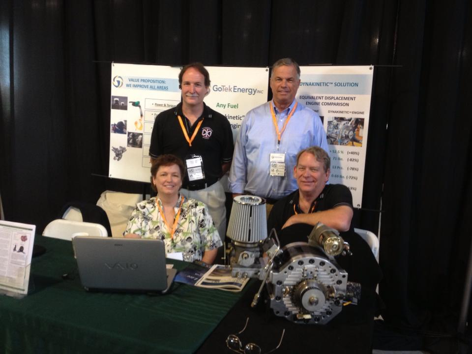 GoTech Execs at 2013 PortTech Expo