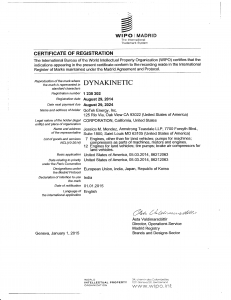 DynaKinetic_WIPO Madrid_Cert of Reg_29Aug14