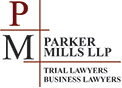 Parker Mills LLP Business Lawyers Logo